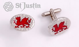 Cufflinks - Welsh Dragon