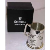 Guinness Pewter Tankard - Flying Toucans