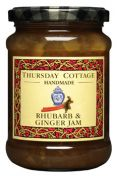 Thursday Cottage Jam: Rhubarb & Ginger (340 g jar)