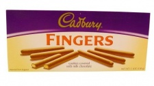 Cadbury Milk Chocolate Fingers<br /> (114 g package) (best by May 9th)
