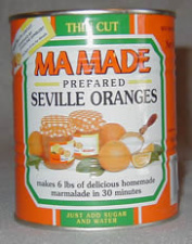 MaMade Seville Oranges Marmalade Preparation