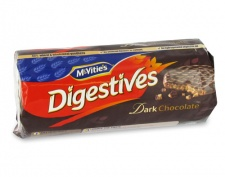 McVitie's Digestives: Dark Chocolate (300 g pkg)
