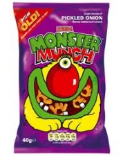 (Crisps) Monster Munch - Pickled Onion (40g)