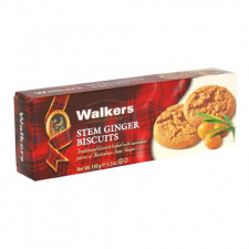 Walkers Stem Ginger Biscuits<br /> (150 g pkg)