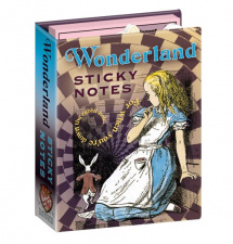 Sticky Notes - Alice in  Wonderland