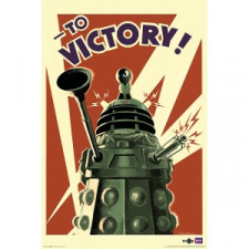 Poster: Dr. Who - Dalek To Victory