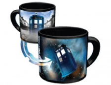 Dr. Who Mug -  Disappearing Tardis