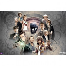 Dr. Who Poster - Doctor Collage