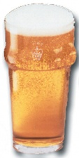 Pint glass - Pint Nonic Glass (stamped)