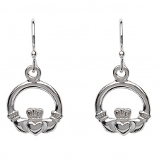 shanore_sterling_silver_claddagh_drop_earrings