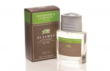 St James Cologne Spray - Cedarwood & Clarysage (50 ml)