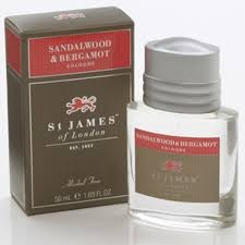 St James Cologne Spray - Sandalwood & Bergamot (50 ml)
