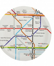 London Underground Disposable Plates (set of 20)