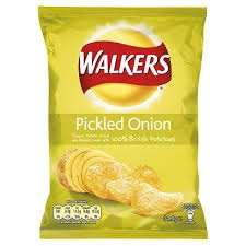 (Crisps) Walkers: Pickled Onion (34.5 g)