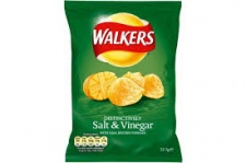 (Crisps) Walkers: Salt & Vinegar (34.5 g)