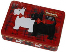 Walkers Scottie Dog Tin (7.8 oz)