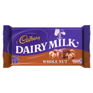 Cadbury Dairy Milk: Whole Nut<br /> (200 g)