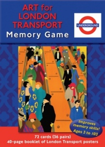 Memory Game - Art for London Transport
