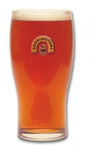 Pint glass - Boddingtons