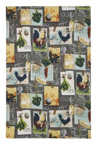 Tea Towel - Chalkboard Chickens (Cotton)