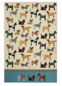 Tea Towel - Hound Dog (Cotton)