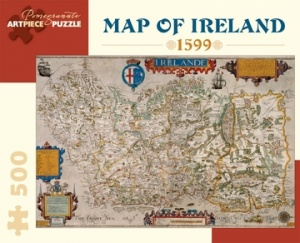 Puzzle - Map of Ireland 1599