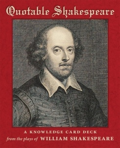 Knowledge Cards: Quotable Shakespeare