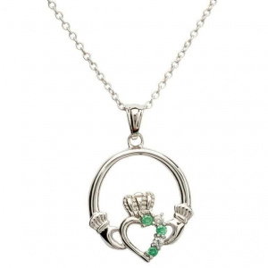 shanore_claddagh_part_set_sterling_silver_necklace