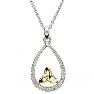 shanore_sterling_silver_cubic_zirconia_necklace_with_gold_plated_trinity