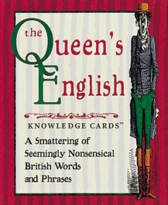 Knowledge Cards: Queen's English